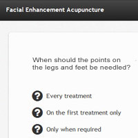 Online Acupuncture Course Test Screenshot
