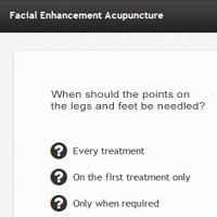 Online Acupuncture Course Test Screenshot