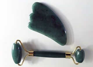 Jade Roller and Gua Sha